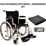 Kit Silla Ruedas Otto Bock 50 Cm  + Almohadon Confort Jay