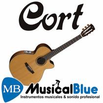 Guitarra Electro Clasica Criolla Cort Cec7-nat Eq. Fishman