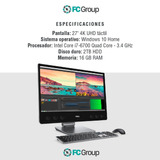 All In One Dell Xps 27 7760 I7-6700 2tb 16gb R9 M485x Touch