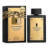 Perfume Hombre Antonio Banderas The Golden Secret Edt 200ml