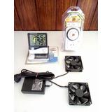 Kit Ventilacion Indoor Completo Timmer Temperatura Humedad