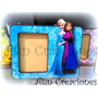 Portaretrato Souvenir Peppa Frozen Princesa Sofia Tinkerbell