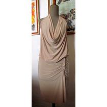Vestido De Jersey Nude Verano 2014 Oferta