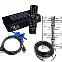 Kit Digital Tda Decodificador Hd + Antena Ext+ Cable Oferta!