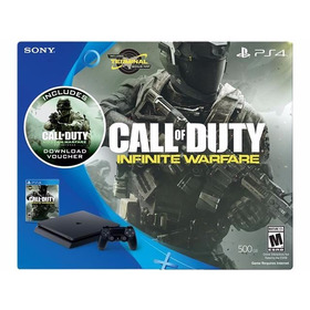 Ps4 Slim 500gb Con Call Of Duty Infinite Warfare + Mw Remast
