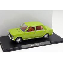 Fiat 128 1969 Coleccion Auto Vintage Esc. 1/24 15 Cm X 7 Cm