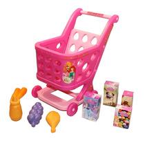 Carrito Compras Princesas Disney Con Accesorios Lelab 7056