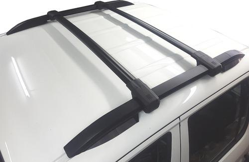 Rack Barras Portaequipaje Aluminio Negras Bepo P  Vw Amarok -   7700 ... a132c42f3419