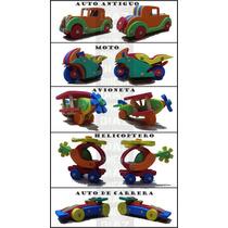 Juegos Didacticos De Goma Eva - Arma Tu Combo - Dia Del Niño