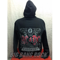 Campera Ac/dc Talle Medium (53 Cm X 63 Cm) Big Bang Rock