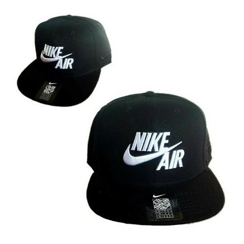 Gorra Visera Nike Negra Bordada Importada Snapback Envios!   760 2e0b589e518
