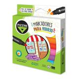 Marcadores Para Vidrio Pizzini Maxi Pack 9 Colores Surtidos