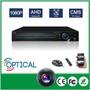 Dvr Ahd 8 Canales Trihibrido 720p 1080p H264 P2p Optical