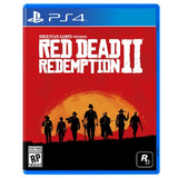 Red Dead Redemption 2 4k Playstation 4 Ps4 Fisico Sellado