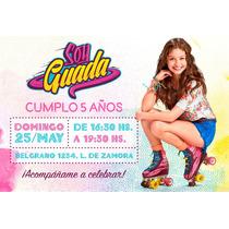 Busca Patines De Soy Luna Invitaciones Con Los Mejores