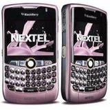Celular Nextel Blackberry 8350 8350i I8350 Rosa Pink Unica