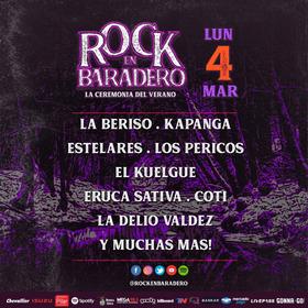 Entradas Rock En Baradero - Día 3 (4/3) - 30% Descuento