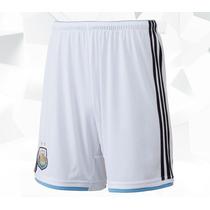 Short Selección Argentina Oficial Titular 2014 Adidas