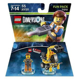 Lego Dimensions Emmet 71212 Fun Pack