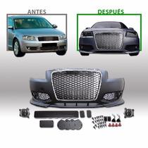 Kit Deportivo Audi A3 Sr 2005 Al 2008 Paragolpe Del Con Aux