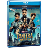 Pantera Negra Black Panther Blu-ray Nuevo Stock Importado