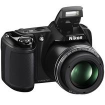 Nikon Coolpix L340, 20.2mp, Zoom 28x, Videos Hd, Gtía 1 Año!