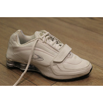 Zapatillas Deportivas Stone Running Resortes 428 Blanco