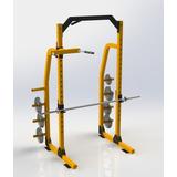 Power Rack Squat  Jaula De Potencia  Dominadas Gym