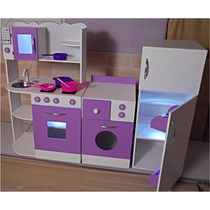 Cocinita Juguete Mueble Infantil Juego De Cocina Casita