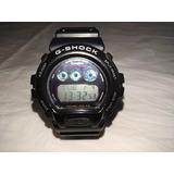 Reloj Casio G-shock Dw-6900 En Perfecto Estado Color Negro