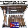Habanos Guantanamera Cristales Cuba Hecho A Mano Caja X 10