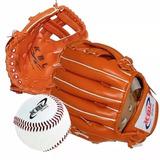 Guante De Baseball + Pelota Cocida Kbl