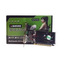 Placa De Video X-banshee Geforce Gt210 1gb Ddr3 64 Bits 589/