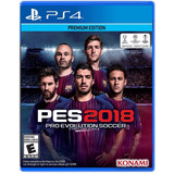 Pes 2018 Ps4 - Pro Evolution - Fisico No Digital - Nextgames