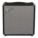Amplificador Fender Rumble 40 40w Transistor Negro Y Plata 220v