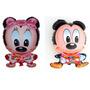 Globo Cuerpo Grande Mickey O Minnie Disney Deco 60cm