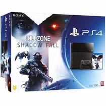 Playstation 4 500gb Ps4 1115a + Killzone Shadow Fall Fisico