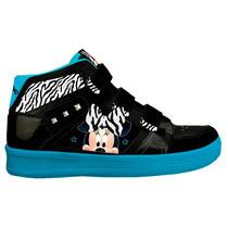 Zapatillas Botitas Minnie Disney Con Luz Nena