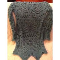 Sweater Tejido Crochet