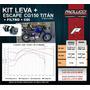 Paolucci - Kit Potencia Honda Titan - Escape + Leva + Filtro