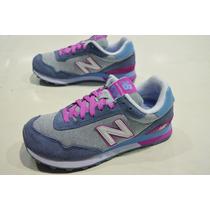 Zapatillas New Balance Wl515 Mujer Urbanas Original