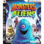 Juego Monster Vs Aliens Ps3 Playstation 3 Físico