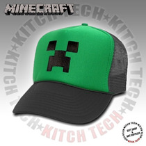 Gorra Minecraft Creeper Trucker