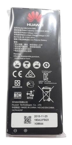 Bateria Original Huawei Y6 Scl L03 Hb4342a1rbc 100