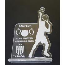 Acrílico Premiación Menciones 10x6cm Acrílicos Trofeo