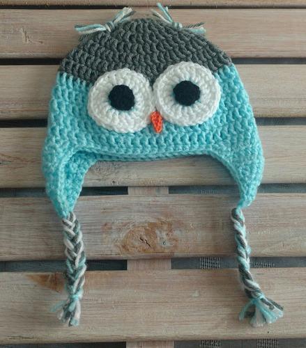 95e57fe87 Gorro Buho Tejido Al Crochet. Precio Al Por Mayor X10 U.