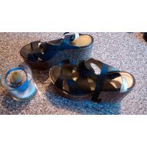 Zapatos - Sandalias Con Plataforma Talle 37