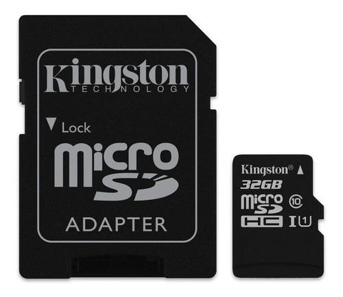 Tarjeta De Memoria Kingston Sdcs Canvas Select 32gb