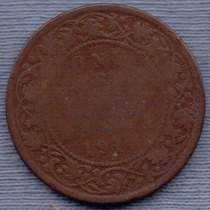 Hong Kong 1 Cent 1917 * Colonia Inglesa * George V *