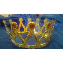 Corona De Reina/rey Dorada